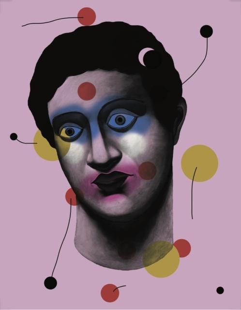 Nicolas Party, 'Portrait for RXArt Children's Hospital Commission', 2019, Print, Screenprint, Lougher Contemporary