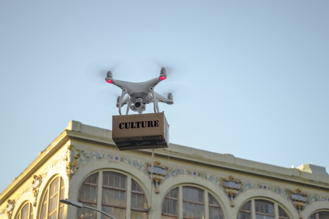 , 'Drone Delivery 3 (edition of 5) - this is 2 of 5,' 2016, SILAS VON MORISSE gallery