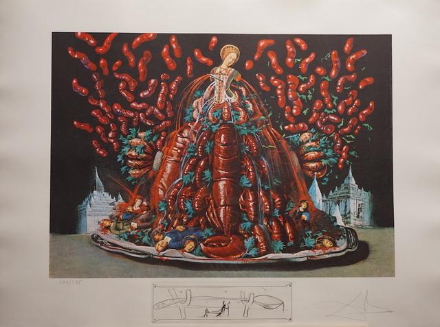 Salvador Dalí, 'Les Diners de Gala Les Canibalismes de l'automne', 1977, Print, Etching, Fine Art Acquisitions Dali