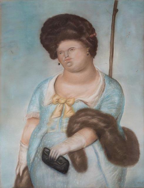 , 'Society Lady,' 1973, Galería Duque Arango