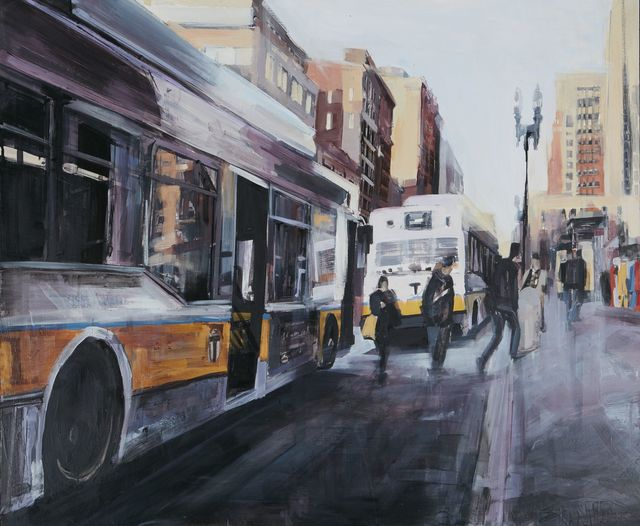 Sean Flood, 'Copley Square Stop, Boston', 2015, Childs Gallery