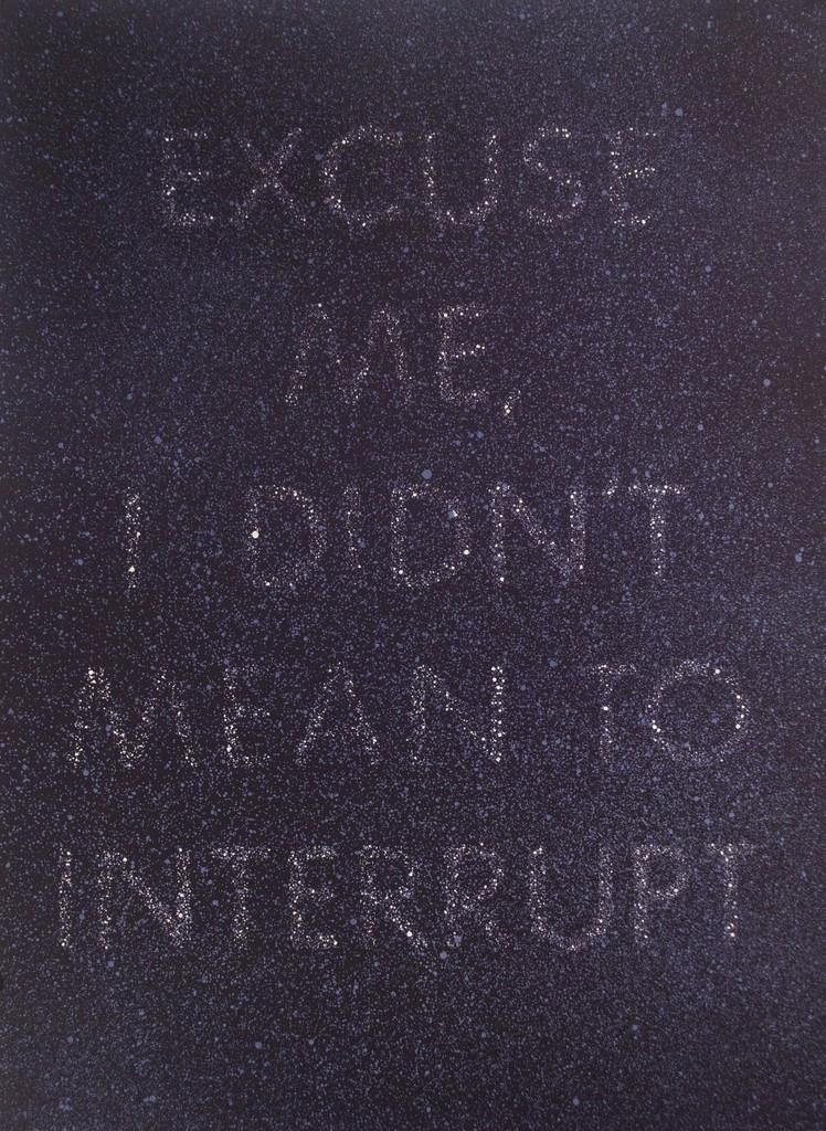 Ed Ruscha, 'Excuse Me - Suite Fifteen,' 1975, Tamarind Institute
