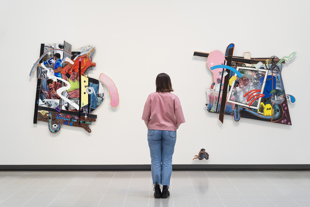 Installation view of Flo Brooks in Kiss My Genders, Hayward Gallery. © Flo Brooks 2019, courtesy the artist and Project Native Informant. Photo: Thierry Bal