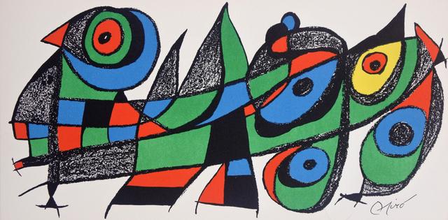 Joan Miró, 'Miró Escultor Japan', 1974, Hans den Hollander Prints