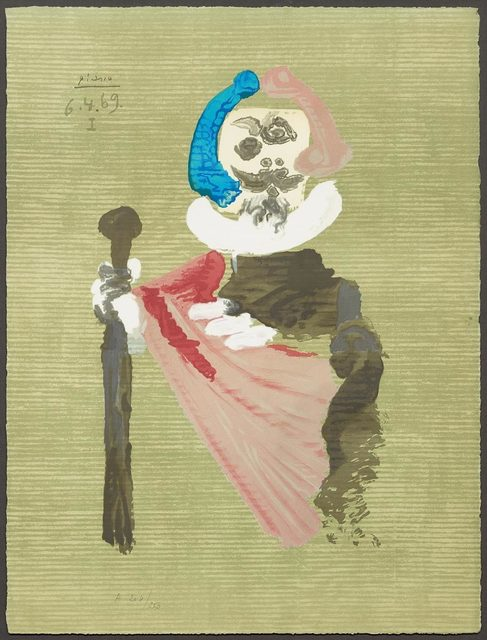 Pablo Picasso, 'From: Portraits imaginaires', 1969, Print, Colour lithograph, Koller Auctions