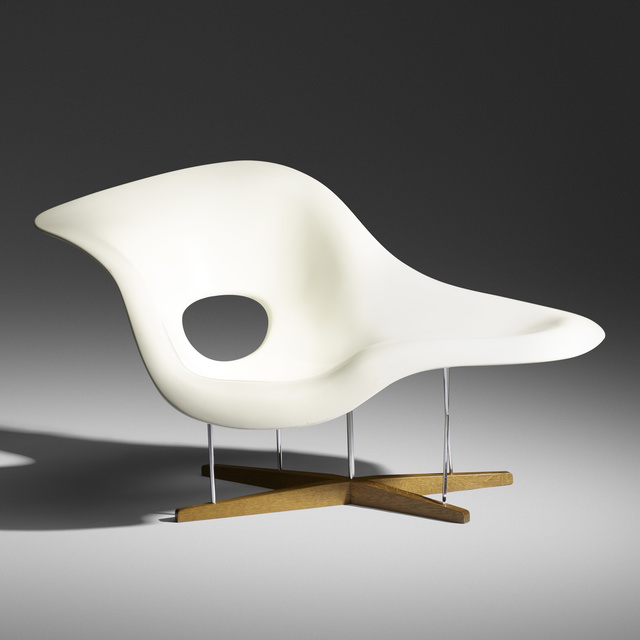 Charles and Ray Eames, 'La Chaise', 1948, Wright