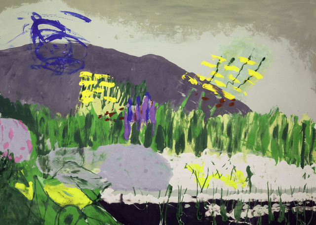 , 'Through the Allotment,' 2015, Flowers