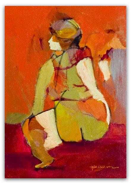 Hessam Abrishami, 'Feeling Joy ', 2021, Painting, Acrylic on Canvas, LaMantia Fine Art Inc.
