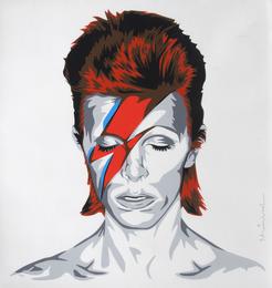 Mr. Brainwash, 'Bowie,' 2016, Julien's Street Art Now (February 2017)