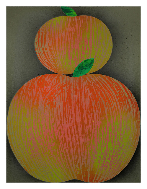 , 'Two Apples,' 2016, Hashimoto Contemporary
