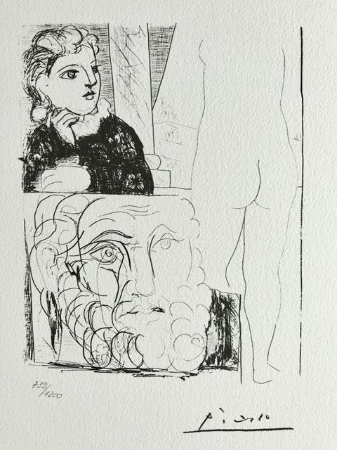 Pablo Picasso, 'Suite Vollard Planche LXXI', 1973, ByNewArt