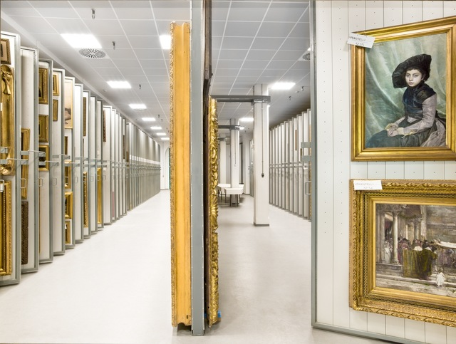, 'Treasure Rooms of the Galleria Nazionale d'Art Moderna - Rome,' 2014, Robert Mann Gallery