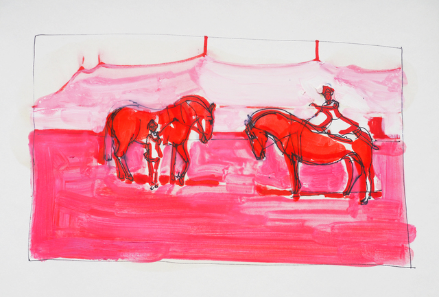 , 'Untitled (Horses),' 2016, Arusha Gallery
