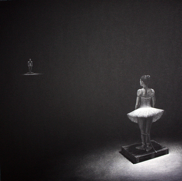 Jorge Lopez Pardo, 'Ballerina from the Human Capital series', 2015, Pan American Art Projects