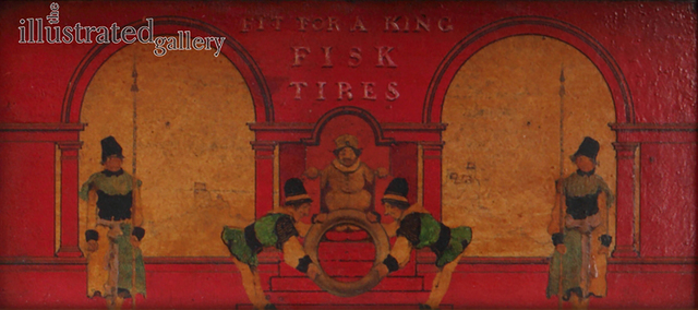 Maxfield Parrish, 'Sketch for Fisk Tires - Fit for a King', 1939, The Illustrated Gallery