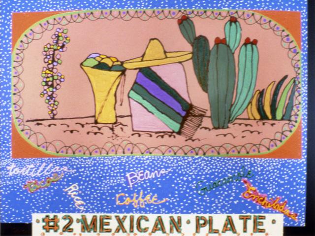 Mel Casas, 'Humanscape 135: #2 Mexican Plate', 1984, Painting, Acrylic on canvas, Ruiz-Healy Art