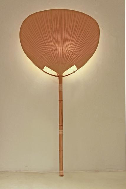 , 'Uchiwa I wall lamp,' 1973, Luisa Delle Piane