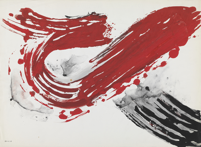 , 'Untitled (from the 'Monotype' series),' 1962, Setareh Gallery