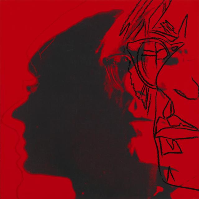 , 'The Shadow (with glasses),' 1981, Ronald Feldman Fine Arts