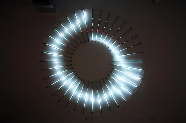 , 'Bitcoin Spiral,' 2014, Galeria Senda