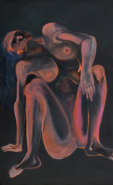 , 'Oturan Kadın - Sitting Woman,' 2015, Anna Laudel