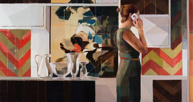 , 'Scene D,' 2017, Abend Gallery