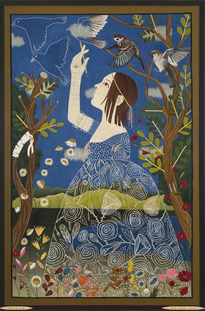 , 'Drawing Birds,' 2018, Antieau Gallery