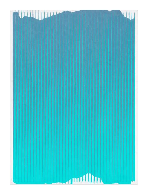 , 'Lonely Planet (Slate Grey / Aquamarine),' 2016-2017, Gavlak