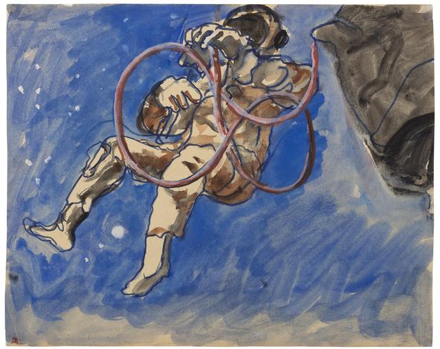 , 'Sin Título (Apolo 15),' ca. 1972-1973, Cosmocosa