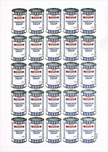 Banksy, 'Soup Cans', 2007, Print, Offset Lithograph, Lougher Contemporary Gallery Auction