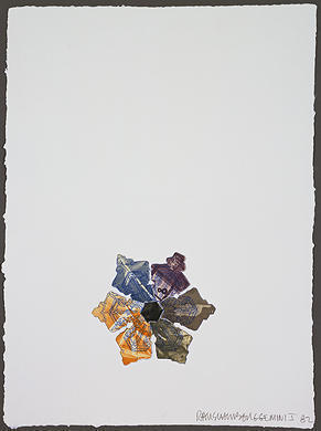 Robert Rauschenberg, '400' and Rising', 1982, Vertu Fine Art