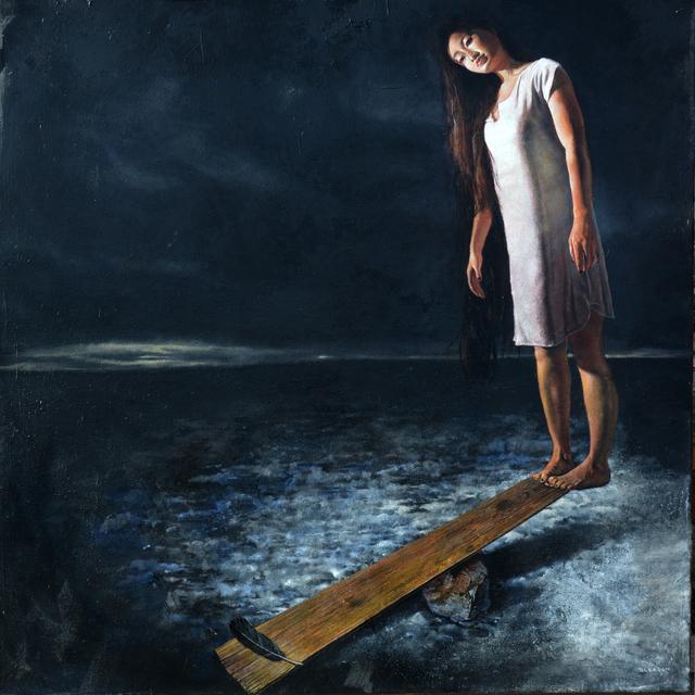 , 'Unbalanced,' 2017, La Luz de Jesus Gallery