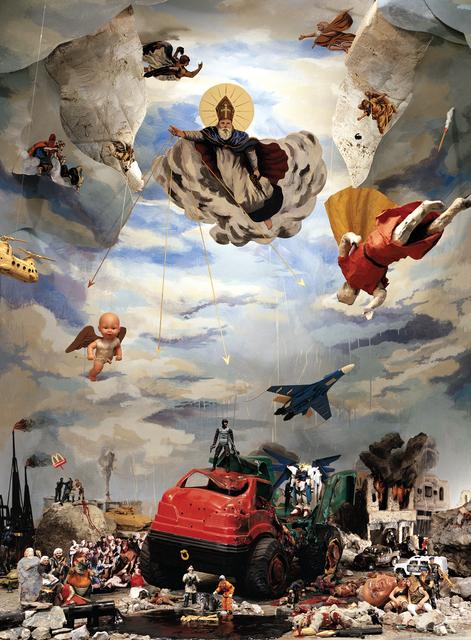, 'La Caída del Orden, Serie Estudio para la Sinfonía del Poder,' 2007, Isabel Croxatto Galería
