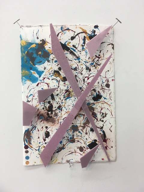 , 'Untitled Nail Drawing,' 2019, Amos Eno Gallery
