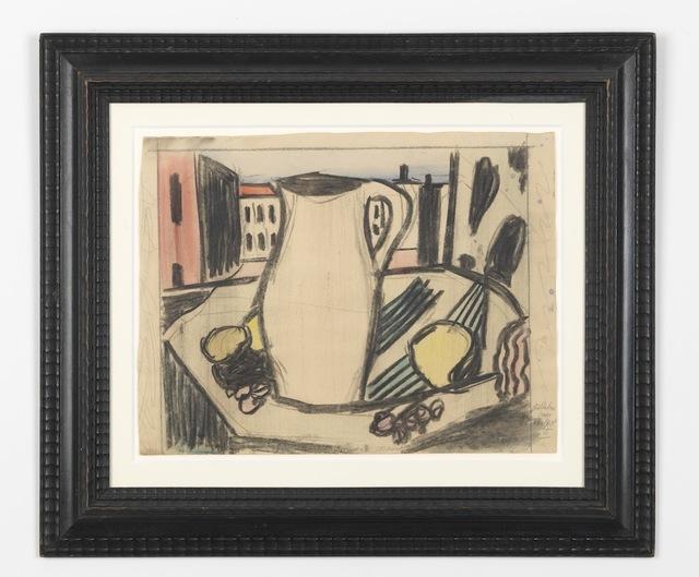 , 'Stilleben am Fenster VI,' 1950, PPC Philipp Pflug Contemporary