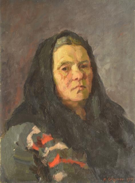 Valery Borisovich Skuridin, 'Fiokla Matveyena', 1959, Surikov Foundation