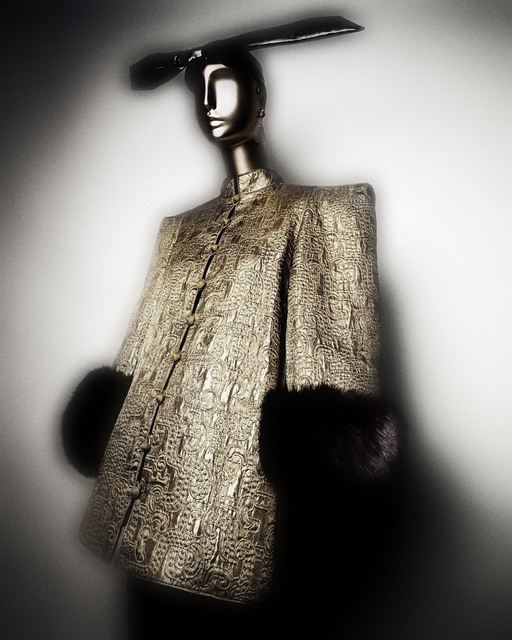 , 'Evening coat,' fall/winter 1977-78 haute couture, The Metropolitan Museum of Art