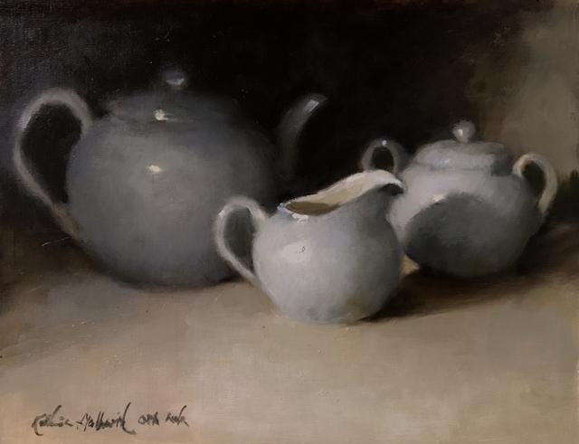 , 'Tea Time,' 2019, The Galleries at Salmagundi