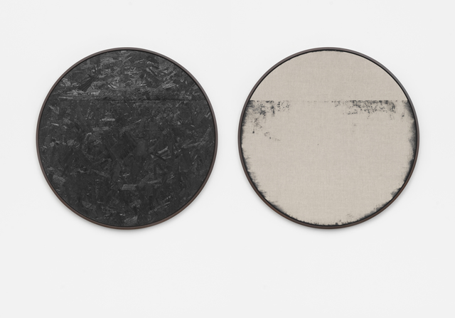 ", 'Burnt Painting, Imprint of the Burnt Painting (C45OSB, 14""TOPSLIT),' 2015, Rodolphe Janssen"