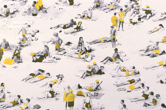 Jane Krensky, 'Swimsuit Competition, Yellow', Not Available, Susan Spiritus Gallery
