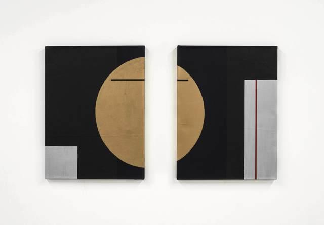 Robert C. Morgan, 'Lissajous (Diptych)', 2016, PROYECTOSMONCLOVA