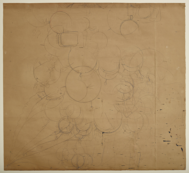 , 'In Situ: Traces of Morandi (Morandi Map I),' 2015, Anglim Gilbert Gallery