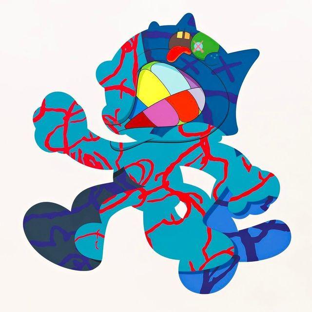 KAWS, 'Ankle Bracelet', 2017, Print, Silkscreen on paper, Carmichael Gallery