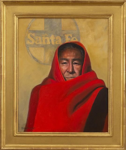 , 'A San Felipe Man in Santa Fe,' 2019, Blue Rain Gallery