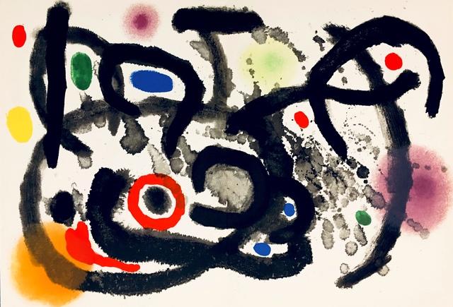 Joan Miró, 'From 'Derrière le Miroir - Joan Miró: Céramique Murale Pour Harvard'', 1961, Eames Fine Art