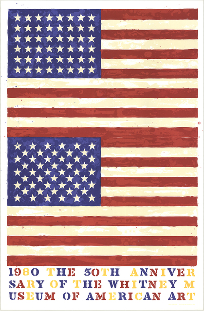 Jasper Johns, 'The 50th Anniversary of the Whitney Museum of American Art (Double Flag)', 1979, ArtWise