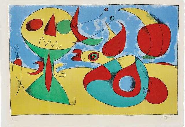 Joan Miró, 'Oiseau zéphyr (Zephyr Bird)', 1960, Phillips