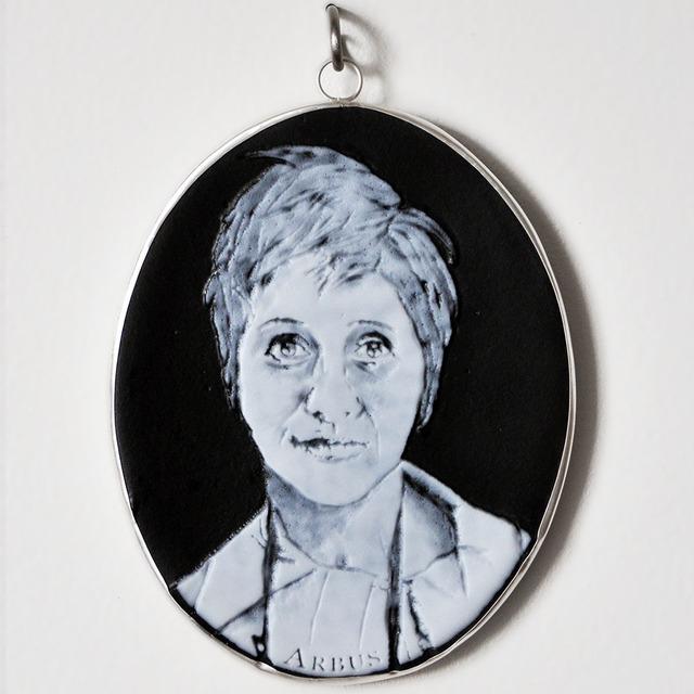 Charlotte Potter, 'Cameographic – Diane Arbus', 2017, Lisa Sette Gallery