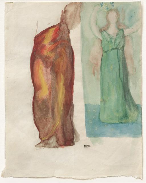 ", '""La Renommée, ou L'Enthousiasme (Fame, or Enthusiasm)"",' 1894, Michael Werner Gallery"