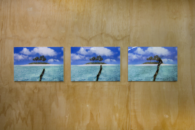 , 'Double Translation from the View of the Sea as the Disaster Approaches 1, 2 and 3,' 2019, Ochi Projects